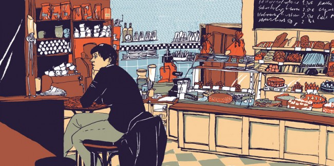 Sowohlalsauch, freie Arbeit, Siebdruck Shining Labor Berlin, 2011