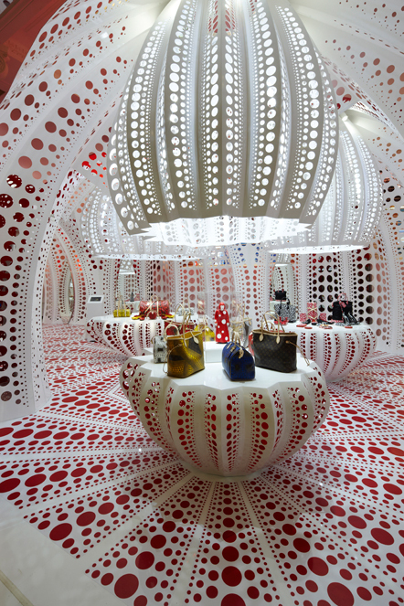 Bild Kusama Louis Vuitton