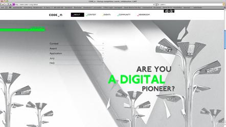 Bild Webseite CODE_n