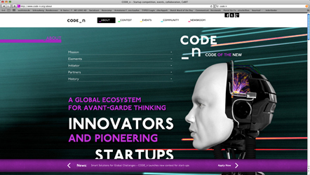 Bild CODE_n Website