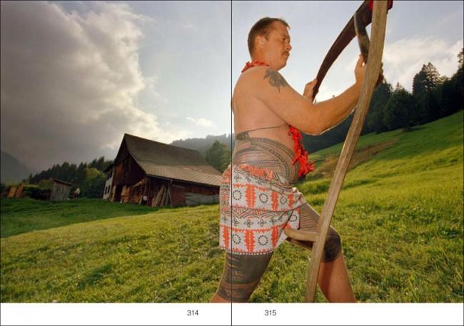 Guido Mingels: »Reisen ins Landesinnere. Reportagen aus der Schweiz«. Mit Fotografien von Andri Pol. Applaus Verlag, Zürich