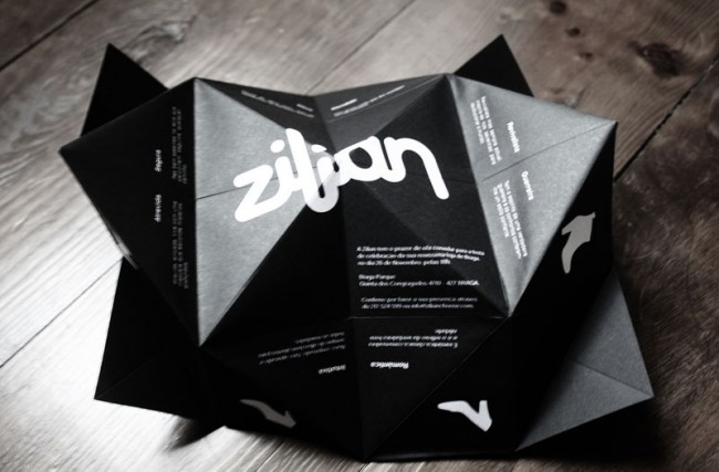 Zilian Opening Invitation - Braga Store, Packaging