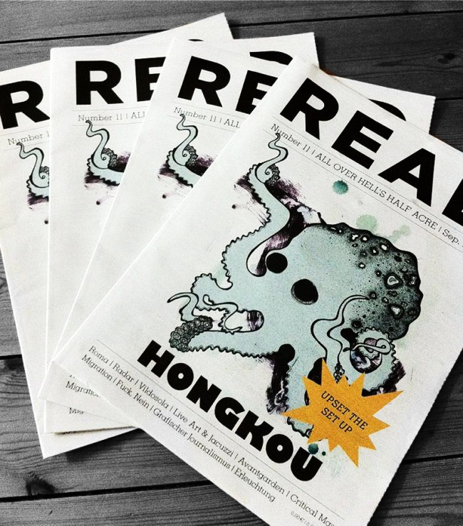 Cover des READ Magazins Nr.11