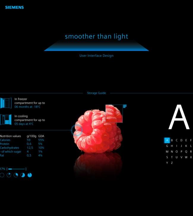 SIEMENS Interfacedesign / Illustrationen, Konzeption, Fotoshooting