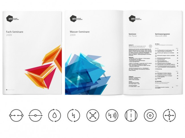 HTI GIENGER Imagebroschüre Fachwelt/ Corporate Design