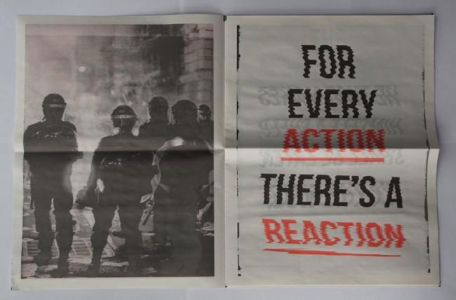 London Riots Newspaper