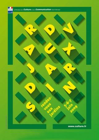 Rendez vous aux Jardins, 2009 – poster