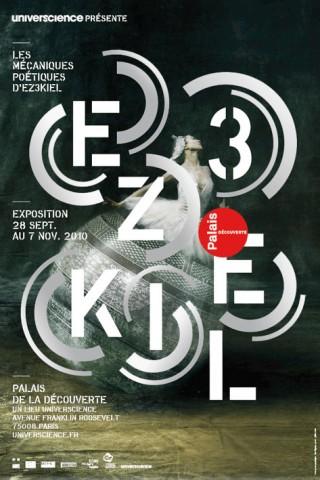 Les mécaniques poétiques d'Ez3kiel, 2010 – poster