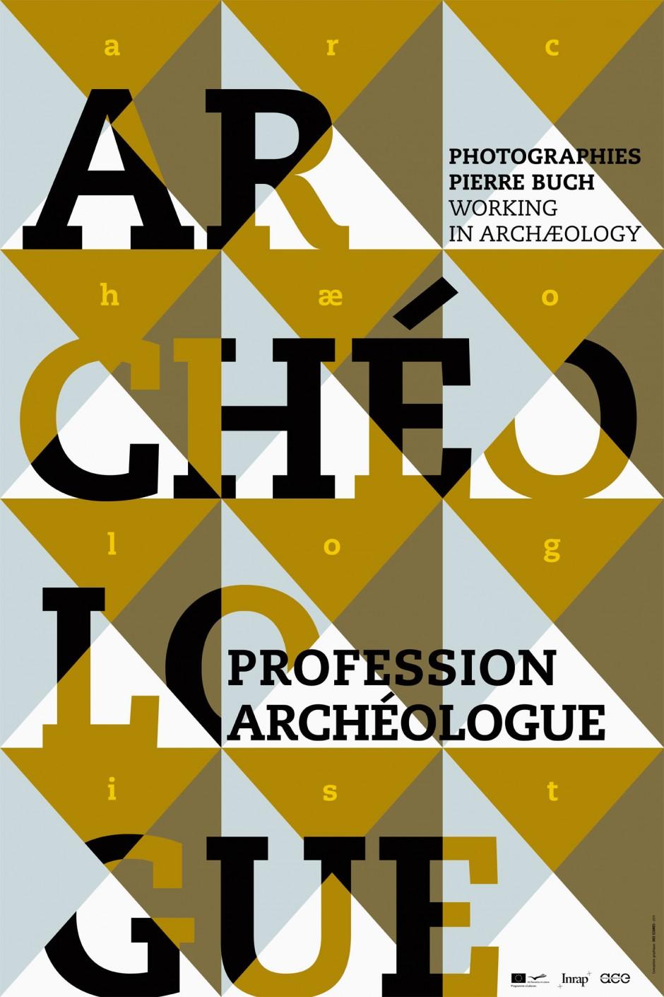 Archéologue – exhibition poster