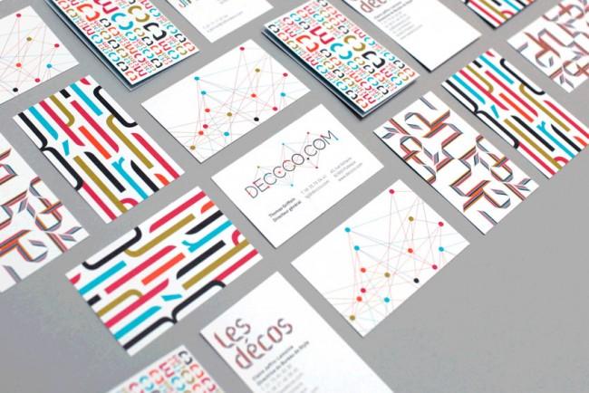 Decod – 4 visit cards