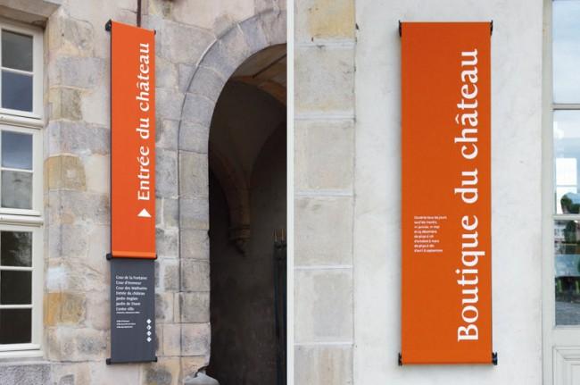Château de Fontainebleau – signage