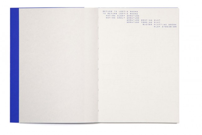 »Return to Leptis Magna« by Anna Barham, Book Design