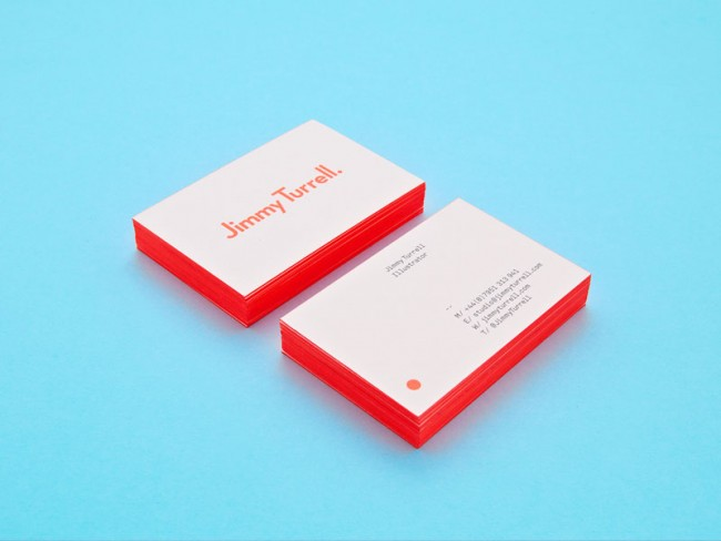 Logotype for Jimmy Turrell, a graphic artist based in London