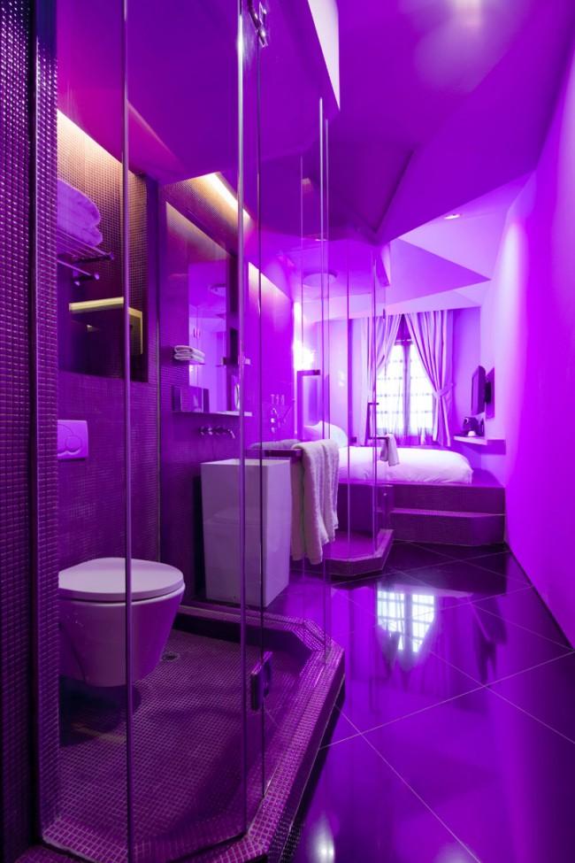 Wanderlust, Singapur | Pantone Room Purple Haze