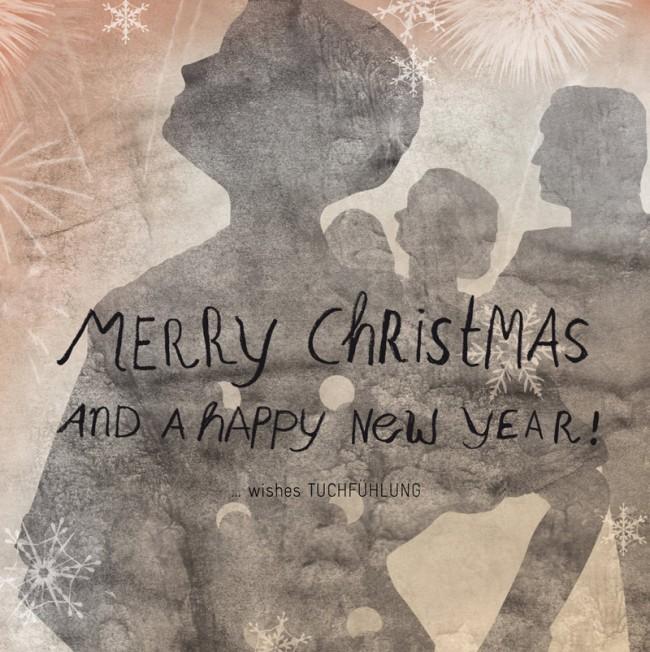 Weihnachtskarte für Tuchfühlung GmbH