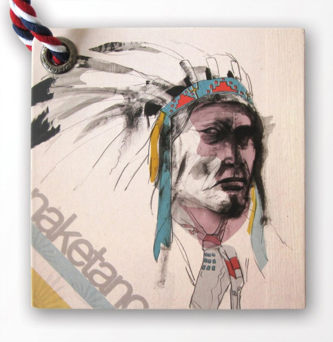 Naketano: Indianer Hangtag