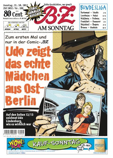 Bild B.Z. Am Sonntag Comic
