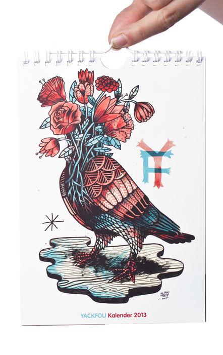 Bild Yackfou-Kalender