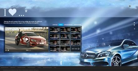 Bild Vorausfahrer Mercedes