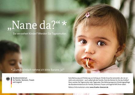 Bild Kampagne Kindertagespflege nane-da