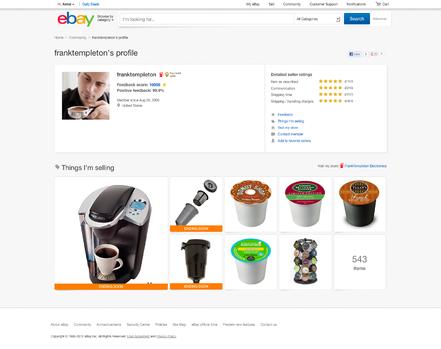 Ebay Einzelseite