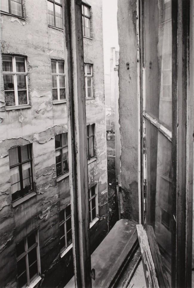 Manfred Paul: Fenster, Oderberger Straße, 1979