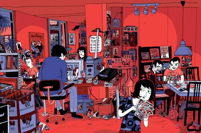 © Kati Rickenbach, Cover Strapazin China Nr. 1, 2010, chinesische Ausgabe