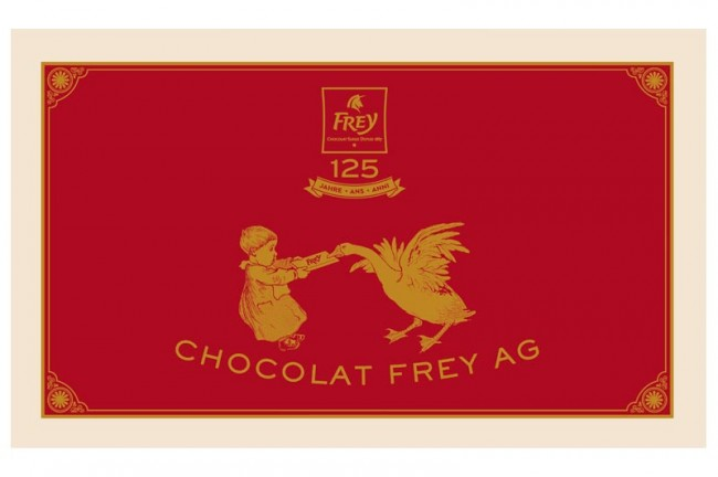 »Kinderkoffer« Schokolade von Frey