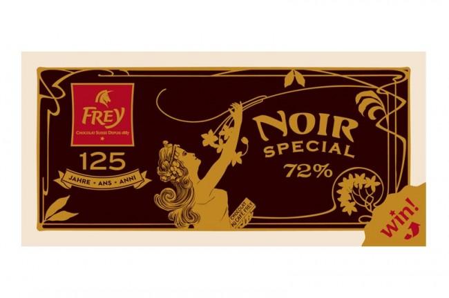 »Noir« Schokolade von Frey