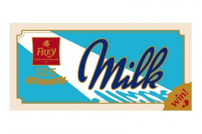 »Milch«-Schokolade von Frey