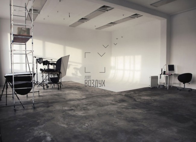 Identity of photostudio Loft Air