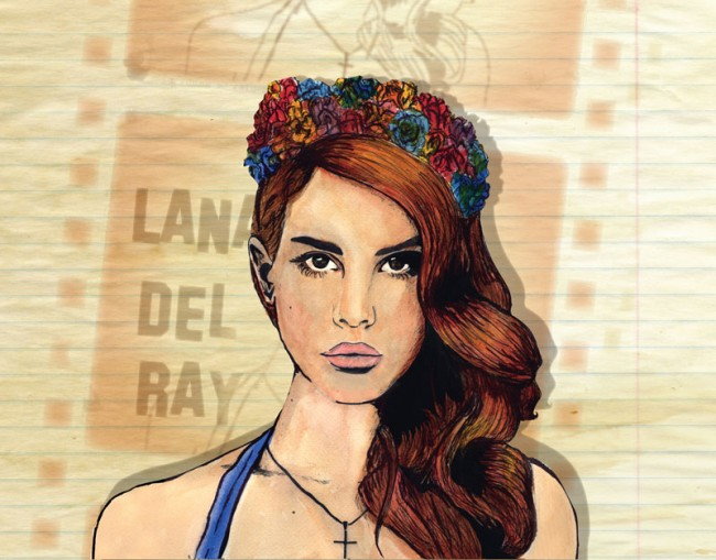 Lana Del Ray, Hot Press Magazine, Album of the Week Portrait, http://www.hotpress.com/