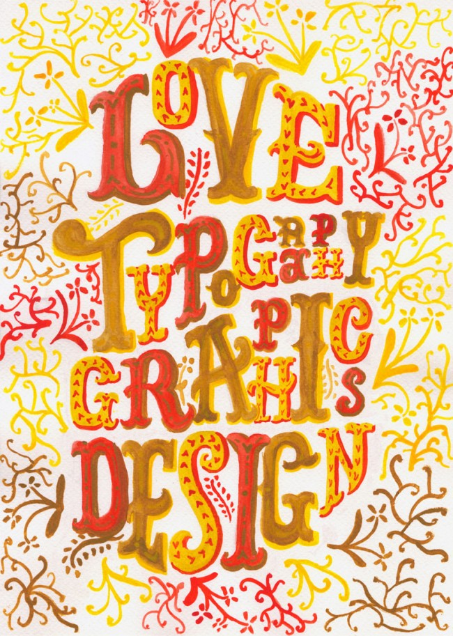 Love Type, Love Design Ident, http://www.lovedesign.ie/