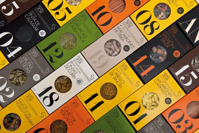 Brand Identity and design for Sandro Desii's pasta