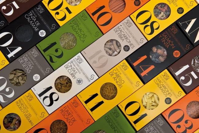 Brand Identity and design for Sandro Desii's pasta