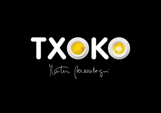 Identity for TXOKO Martin Berasategui