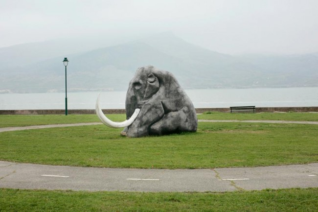 Freezing Mammut, by the Danube, Serbia, 2008