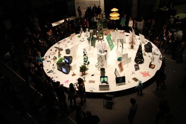 Oh Tannenbaum Ausstellung HfG, 2011