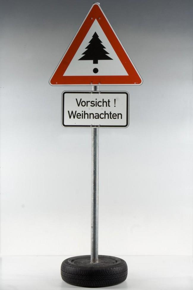 »Vorsicht Weihnachten!« Volker Albus, 2006