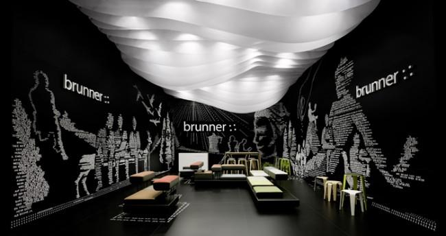 Adam Gold Messeauftritte bis 150 m2: Brunner Messestand Salone Internazionale del Mobile 2012 von Ippolito Fleitz Group