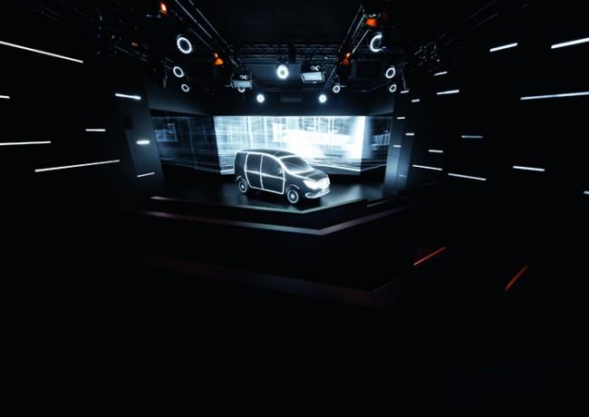 Adam Gold Messeauftritte bis 500 m2: Mercedes-Benz Black Box von Phocus Brand Contact