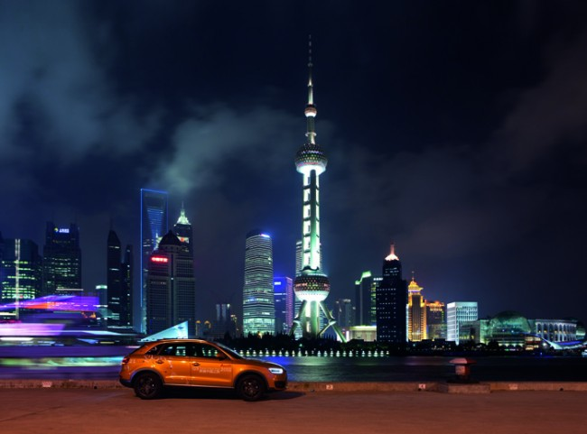 Eva Gold Corporate Events: Audi Q3 Trans China Tour von Pure Perfection