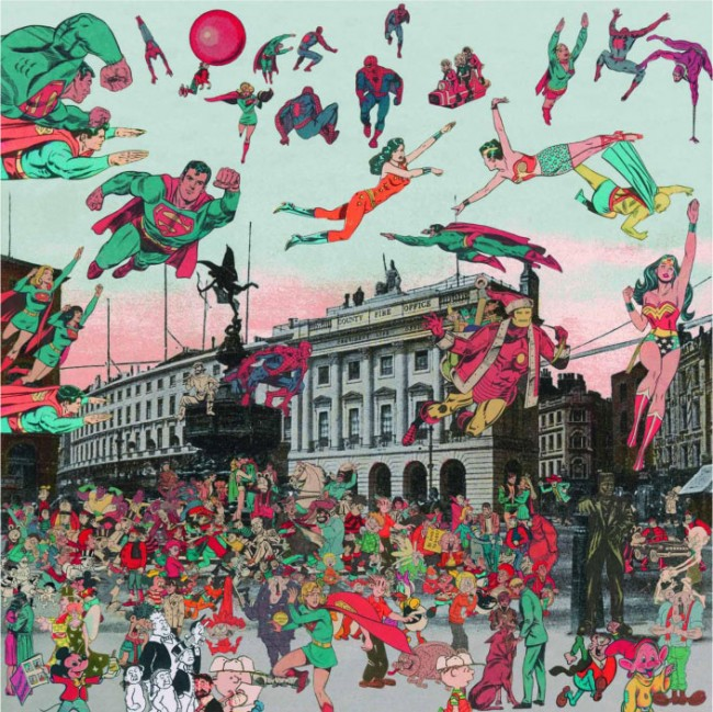 Peter Blake, The Comic Book Convention comes to London, 2012