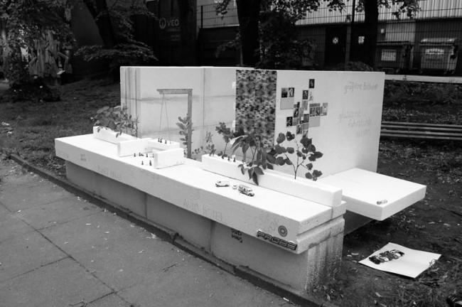 Charlotte Dieckmann und Alexander Joly: Gegenplanung Esso-Häuser, Pavilliontage