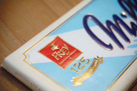 Bild Vintage Packaging Fey Schokolade