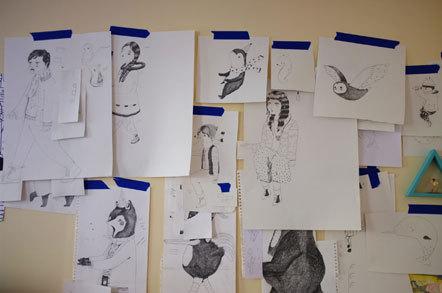 Bild Julia Pott Hermes Sketches