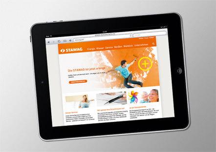 Bild Stawag iPad
