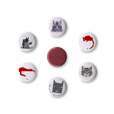 Bild Stereohype Cats Buttons