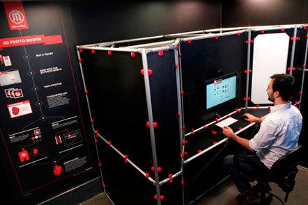Bild Makerbot 3D-Porträt