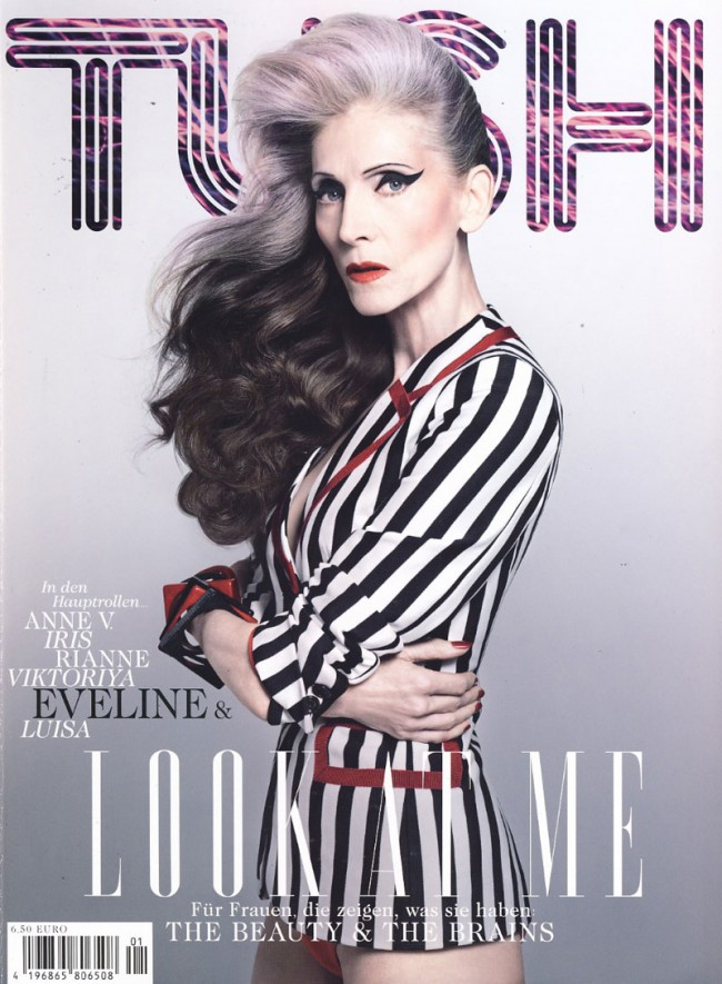 Eveline Hall auf dem Cover von »Tush«, fotografiert von Armin Morbach